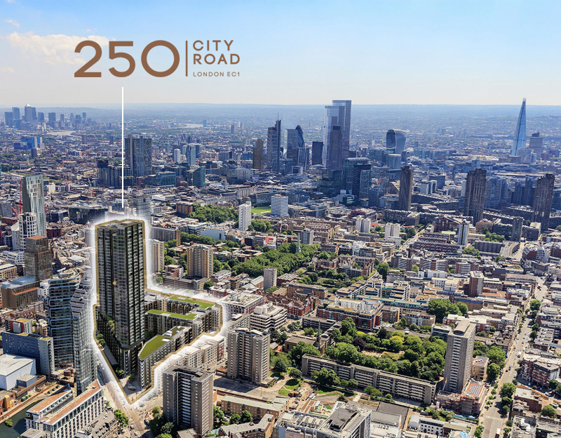 buy apartment in 250 city road down - Islington EC1V 2QQ - uk